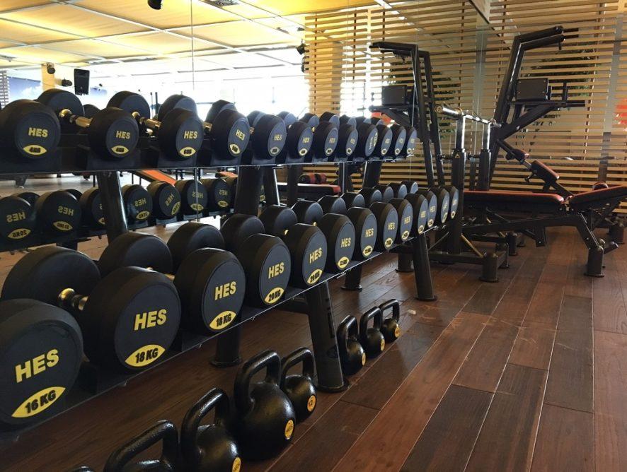 Strefa Gym w Odyssey Hotel Wellness & SPA